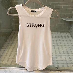 Knit Riot Strong Woman Tank Top
